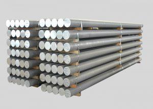 1080,2A11,3003,4A11,5754,6082,7A05 Legeeritud alumiiniumvarda